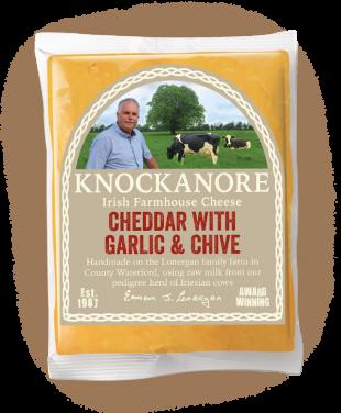 Cheddar with Garlic & Chive