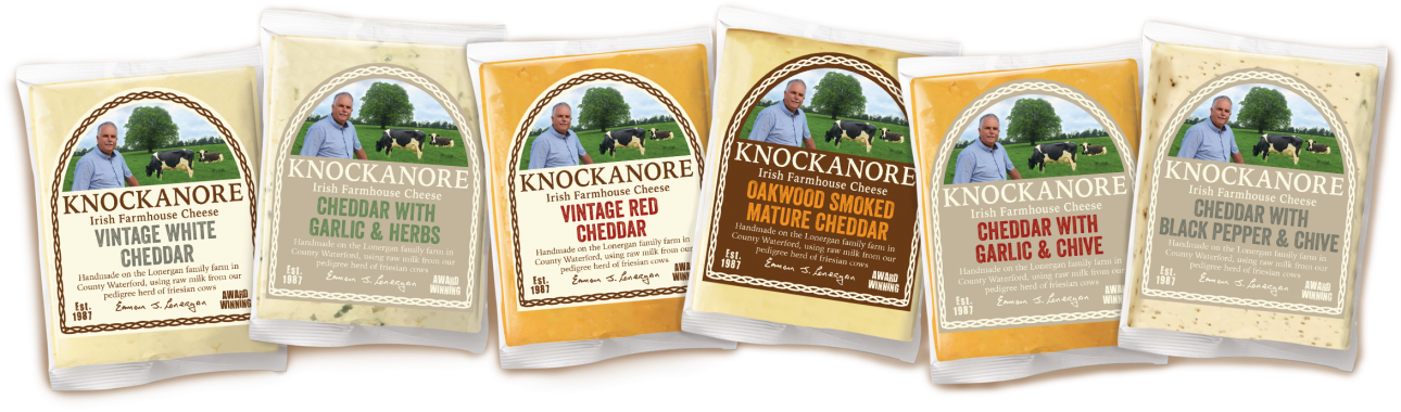 Knockanore Cheese product range