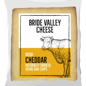 Bride Valley- Irish Cheddar naturally smoked using Oak chips