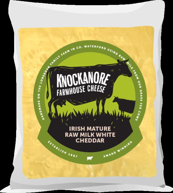 Knockanore Farmhouse Cheese Mature White Cheddar