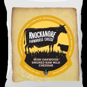 Knockanore Irish Oakwood Smoked Raw Milk Cheddar
